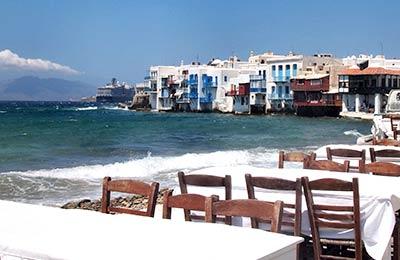 Naxos na Mykonos