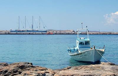 Prom z Aegiali do Astypalea
