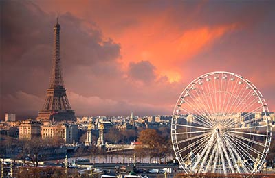 Podróżuj komfortowo do Paryża