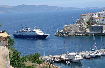 Wyspy Sarońskie - promy