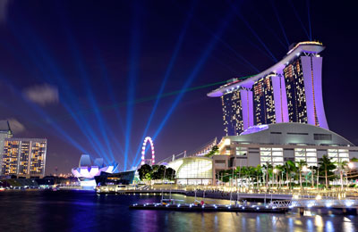 Port Promowy Singapore Harbourfront