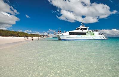 Prom z Wyspy Daydream do port of Airlie