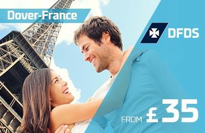 1-dniowe krótkie przerwy do Francji od 35 £