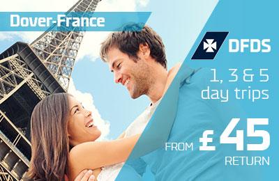 Krótkie wyjazdy do Francji od 45 £