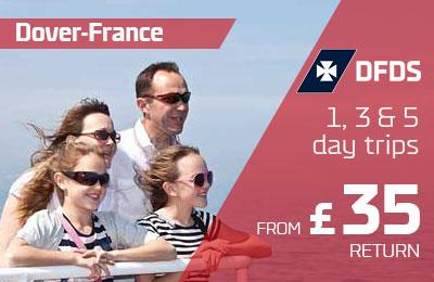 Krótkie przerwy do Francji od 35 £